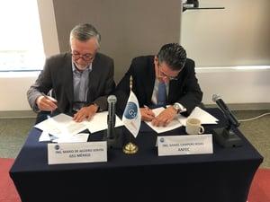 Firma de Colaboración GS1 México y ANFEC