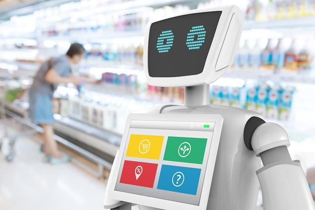 Robots Retail Inteligencia Artificial Daqua IA GS1 Mexico