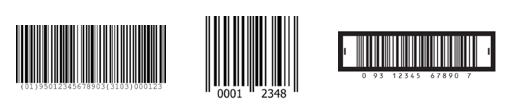 código de barras lineales